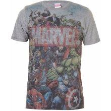 Character Marvel AOP T Shirt Mens Marvel