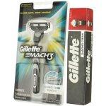 Gillette Mach 3 holící strojek s 1 náhradou pěna na holení 30 g dárková sada