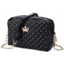 206a2979e01 dámská kabelka princess Lifestyle F9395 černá