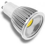 LED žárovka, GU10, 5W, Neutrální bílá