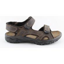 IMAC I1826e31 Pánské sandály hnědé