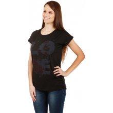 Glara Dámské volné tričko s potiskem e6b3b8c8d8