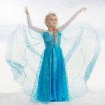 Frozen / šaty Frozen Ledové království Elsa