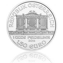 Wiener Philharmoniker Česká mincovna Stříbrná investiční mince 1,5 EUR stand 31,1 g