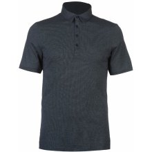 Ashworth Microdot Golf Polo Shirt Mens Navy