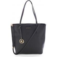Anna Grace černá kabelka shopper velká 1f24aeea12f