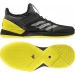 5ac4435306d Adidas Performance adizero ubersonic 3 w clay Stříbrná   Žlutá černá