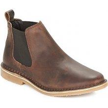 Jack Jones Kotníkové boty LEO LEATHER CHELSEA LTD Hnědá 613fdf462b
