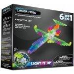 LaserPegs Letadla 6v1