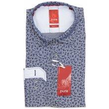 Pánská košile Pure Slim Fit s krátkým rukávem