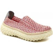 1b357fc1b6 Rock Spring ZIGGY Red Stripe červená gumičková obuv