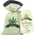 Bohemia Natur Cannabis Premium koupelová sůl v plátěném sáčku 150 g