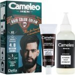 Delia Cosmetics Cameleo Men barva na vlasy 4.0 Medium Brown 30 ml