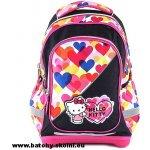 51b8577b23a Target batoh Hello Kitty barevné srdíčka