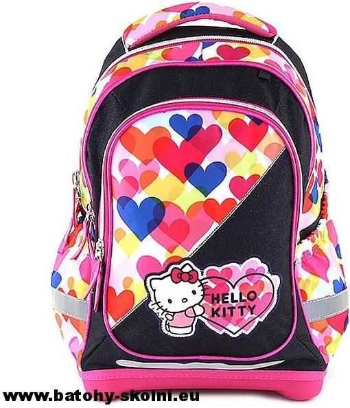 Target batoh Hello Kitty barevné srdíčka od 840 Kč - Heureka.cz 958a3ba3c6