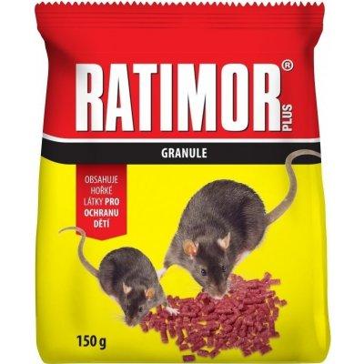 Ratimor Plus granule na hubení hlodavců 150 g