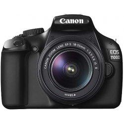 Canon EOS 1100D + 18-55 DC III + Poukaz na slevu 200 Kč na fotopráce + Výhodné splátky