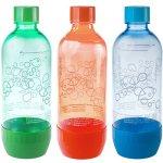 SodaStream láhev TriPack Green/red/Blue 1 l