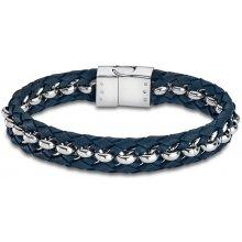 Lotus Style pánský modrý náramek LS1810-2/1