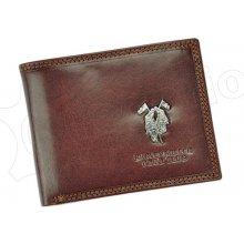Harvey Miller 3820 992 pánská kožená peněženka hnědá