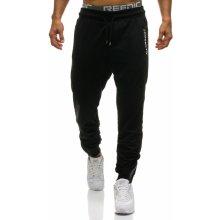 Černé pánské tepláky jogger Bolf 0865