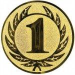 Pohary.com Emblém 1. místo zlato 25 mm