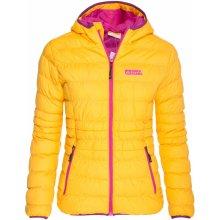 Nordblanc zimní bunda TREASURE NBWJL5838 žlutá