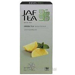 Jaftea Green Lemon Mint nepřebal 25 x 2 g