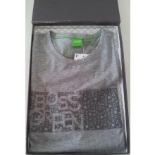 Hugo Boss polo Tee box šedé
