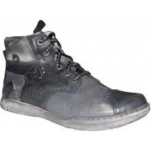 D.D.Step Kacper pánská zimní 3-6211 šedá