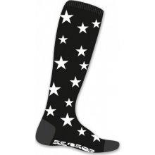 Sensor ponožky Thermosnow Stars černé 16200158