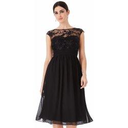Goddiva společenské šaty krátké černá od 1 799 Kč - Heureka.cz b7877d7307