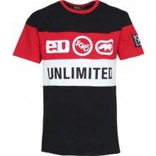 Ecko Unltd Tri-Logo T Shirt Black