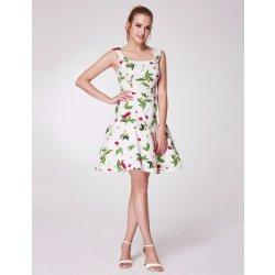 a2a12a1977ed Ever-Pretty letní šaty s třešněmi a U výstřihem bílá alternativy ...