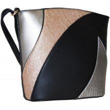 Sun-bags barevná crossbody kabelka F002 černá