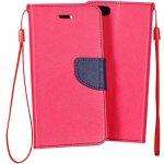Pouzdro TELONE Fancy Microsoft Lumia 550 růžové