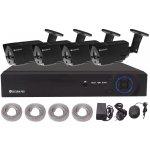 Kamerový set Securia Pro NVR4CHV2, 4x IP kamery, NVR s POE