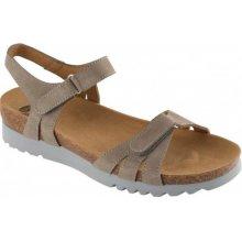 Scholl AYDA šedé zdravotní sandále 878bb95175