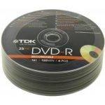 TDK DVD-R 4,7GB 16x, spindle, 25ks (T78651)