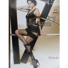 Gatta Punčochy samodržící Michelle 01 černé