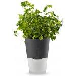 Eva Solo Samozavlažovací květináč 11 cm, šedý