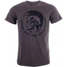 Diesel Mens T-Ulysse T Shirt Grey