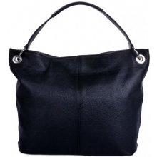 Pelletteria Giada kožená kabelka 1118 černá