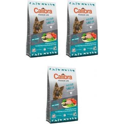 Calibra Dog Premium Line Adult Large 3 x 3 kg