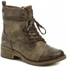 Mustang 1293-501-360 hnědá dámská obuv 407eb5ab18