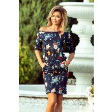 ce4f33a6933e Numoco dámské šaty s květy 13-91