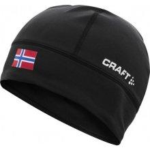 Craft Light Thermal Flag s vlajkou černá Norsko