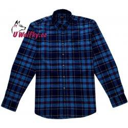 Wolf Pánská flanelová košile modrá s červenou od 309 Kč - Heureka.cz 94e374e722