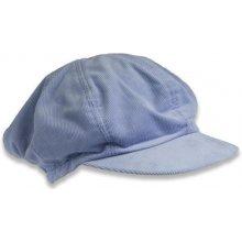 Manžestrová čepice bleděmodrá d902974813