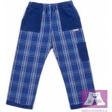 Dětské kanafasové kalhoty Modrovous limitovaná série